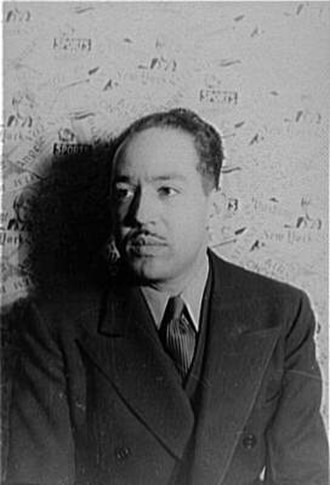 Harlem Renaissance - Langston Hughes, novelist and poet, photographed by Carl Van Vechten, 1936
