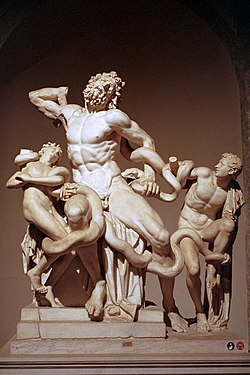 Laocoön and His Sons at Night in the Vatican Kodak Portra 400 Leica M6J Summilux 50mm.jpg