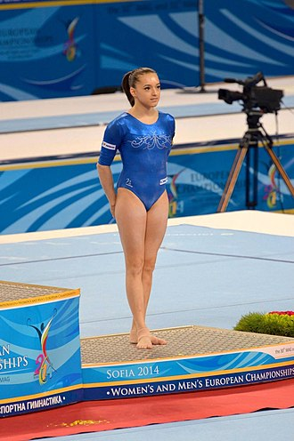 Larisa Iordache - Iordache at the 2014 European Championships