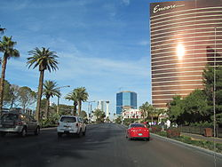 Las Vegas Boulevard northbound, Las Vegas NV.jpg