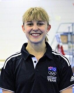 Lauren Mitchell Australian artistic gymnast