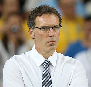 Laurent Blanc - Blanc managing France at UEFA Euro 2012