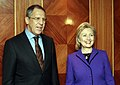 Lavrov and Clinton in London 2010.jpg