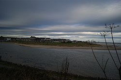 Laytown viewed from across the River Nanny