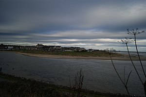 Laytown - Laytown viewed from across the River Nanny