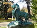 Le Lion de Nubie et sa proie by Auguste Cain, Paris 2012 07.jpg