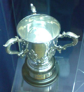 EFL Cup - The current EFL Cup trophy.
