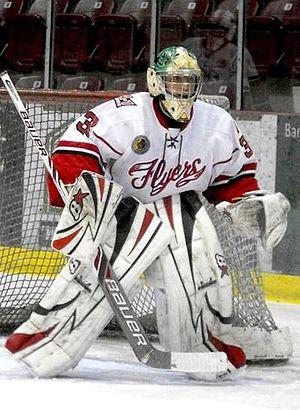 Leamington Flyers - Flyers goalie during 2013-14 season.