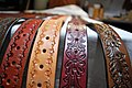 Leather belts made by Jozef Rabatin from Slovakia 2.jpg