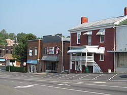 Downtown Lebanon, VA (photographed by Doug Kerr)