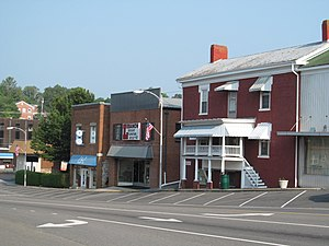 Lebanon, Virginia - Downtown Lebanon