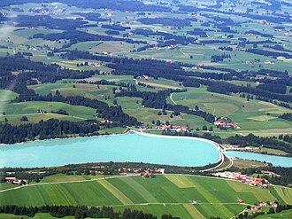 Lech (river) - Image: Lechstaustufe 2004