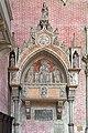 Left transept of Santi Giovanni e Paolo (Venice) - Tomb of dogaressa Agnese Venier (†1410).jpg