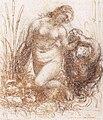 Leonardo da Vinci - Study for a kneeling Leda - WGA12756.jpg