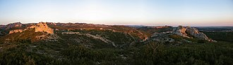 Alpilles - Panorama of the Alpilles