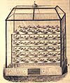 """Les merveilles de l'industrie, 1873 """"Appareil pour la fabrication du vinaigre par la méthode chimique de Döbereiner"""". (4305583181).jpg"""