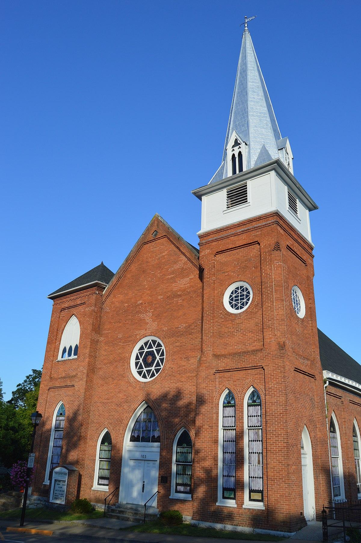First Baptist Church Lexington Virginia Wikipedia