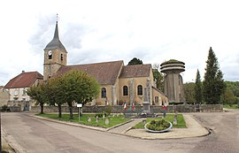 The church in Liffol-le-Petit