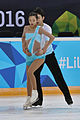 Lillehammer 2016 - Figure Skating Pairs Short Program - Ying Zhao and Zhong Xie 1.jpg