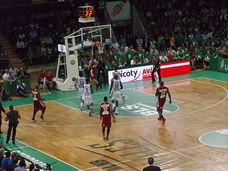 2014–15 Pro A season - Game 3 of the Finals between Limoges and Strasbourg
