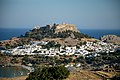 Lindos acropolis and town.jpg