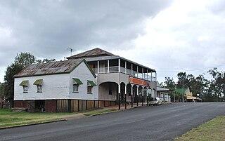 Linville, Queensland Town in Queensland, Australia