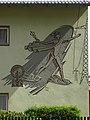 Linz-Urfahr - Sgraffito Merkur - von Otto Götzinger.jpg