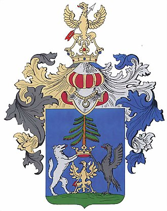 Coat of arms - Coat of Arms of Liptov County in Slovakia.