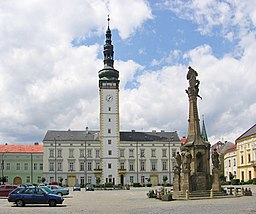 Litovel - Square of Přemysl Otakar II.jpg