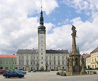 Litovel Town in Moravia