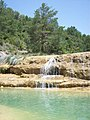 Little falls near the dam of La Peña - Huesca - Spain - panoramio.jpg