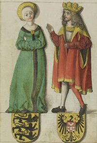 Liudolf of Swabia and his wife Ida.jpg