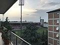 Lo stadio comunale Mirabello visto da un palazzo circostante.jpg