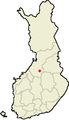 Location of Piippola in Finland.png