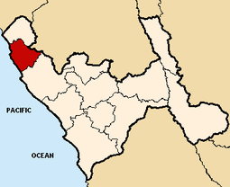 Location of the province Pacasmayo in La Libertad.PNG