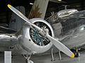 Lockheed Electra Junior L12A CASM 2012 engine.jpg