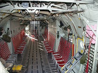 Cabina de carga del C130