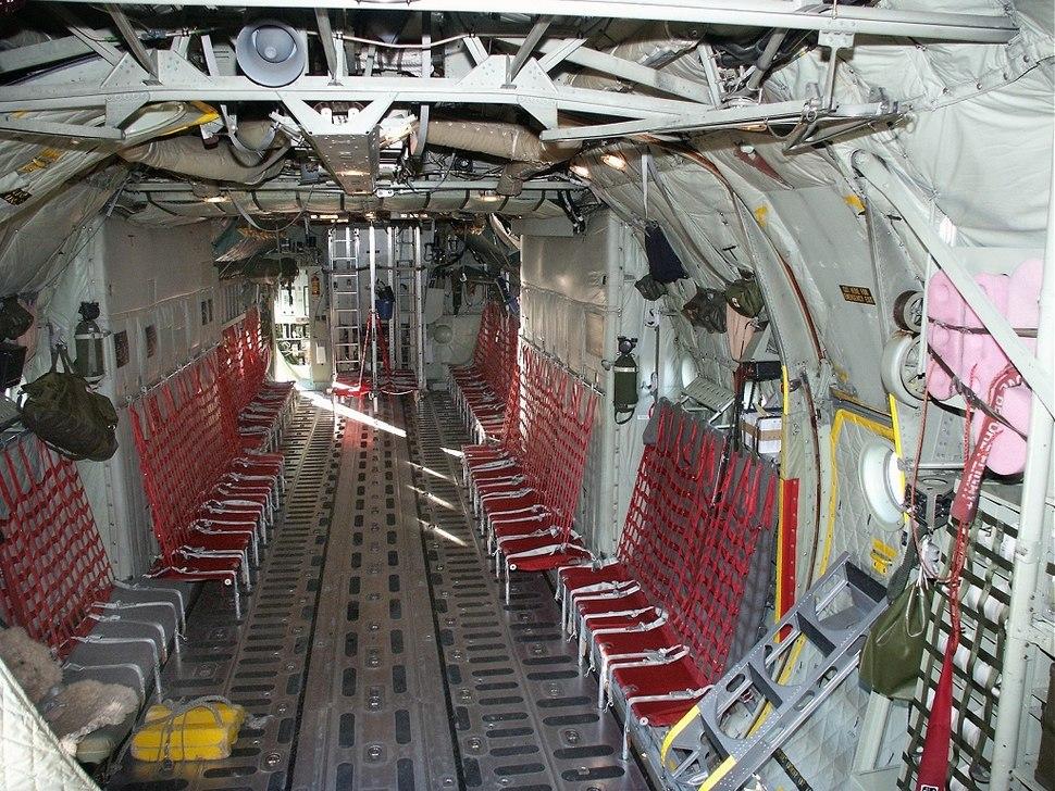 Lockheed Hercules interior