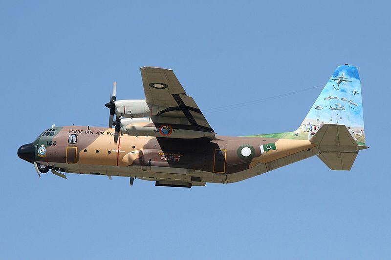 Lockheed L-100 Hercules (L-382B), Pakistan - Air Force AN1084290.jpg