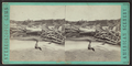 Logs washed over the dam, west side of the bridge, Glens Falls, N.Y, from Robert N. Dennis collection of stereoscopic views.png