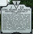 Long Marsh Run Sign 2010.jpg