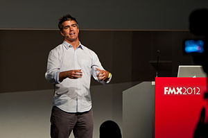 Zoic Studios - Loni Peristere talking about Virtual Production in Television at FMX 2012