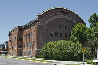 Waded Cruzado - President Cruzado unsuccessfully sought legislative approval in 2011 and 2013 to have Romney Gym (depicted) renovated.