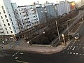 Looking down on the bikeway from the hotel (42795624830).jpg