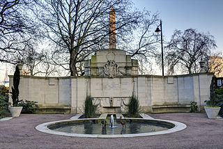 Cheylesmore Memorial memorial in London