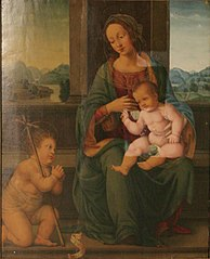 Madonna and Child with the Little St. John Baptist