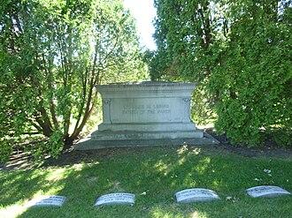 Charles M. Loring - Loring's monument in Lakewood Cemetery in Minneapolis