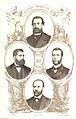 Los diputados pintados por sus hechos 07, Guzmán, García San Miguel, Paul y Angulo, Castejón.jpg