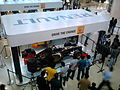 Lotus-Renault F1 car in display during an event.jpg
