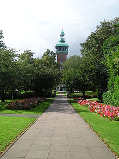 Loughborough Carillon grade II listed military museum in Loughborough, United kingdom